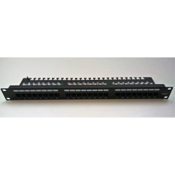 "Patch Panel 19"" 24xRJ45 Cat5e"